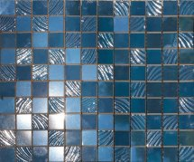 Paul Skyfall Mosaico Blue 2.5х2.5 25x30