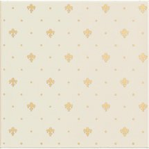 Petracers Grand Elegance Gold Giglio Oro Su Panna 20x20