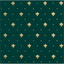 Petracers Grand Elegance Gold Giglio Oro Su Verde 20x20