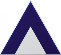 Petracers Triangolo Pinco Blu 17x17
