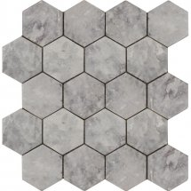 Stone4Home Marble Mosaic Hexagon LG Tumbled 74x74 27x30.5