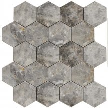 Stone4Home Marble Mosaic Hexagon LGP 74x74 27x30.5