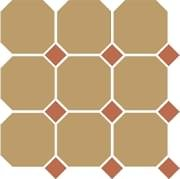 TopCer Octagon Yellow Caramel Dots 30x30