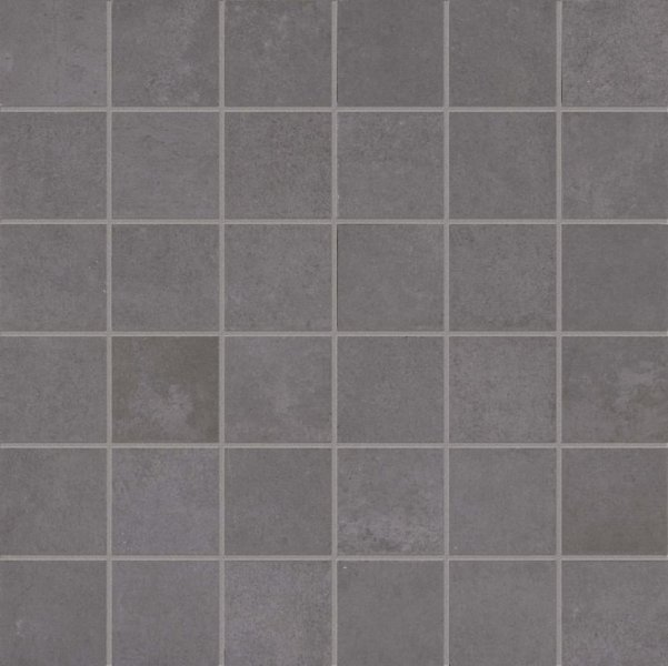 ABK Docks Mosaico Quadretti Black 30x30
