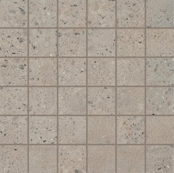 ABK Downtown Mosaico Quadretti Earth Rett 30x30