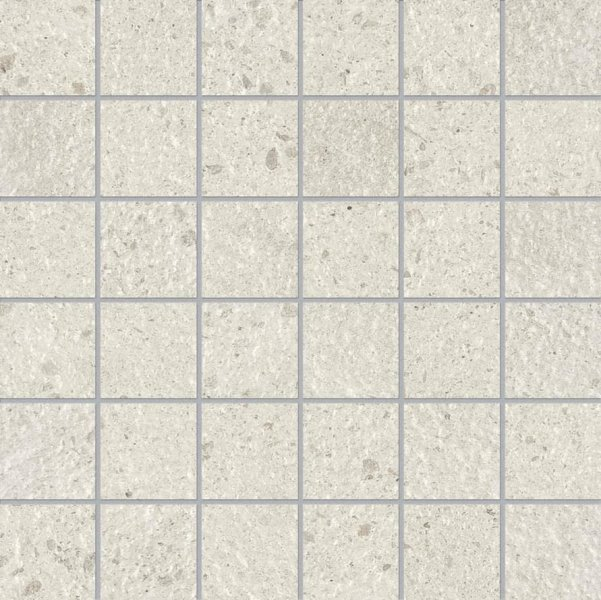 ABK Downtown Mosaico Quadretti Walk Ivory 30x30