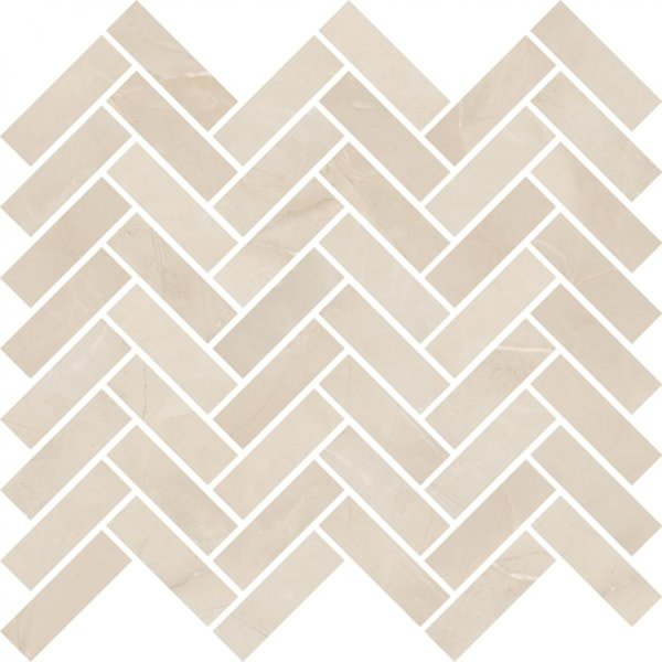 ABK Sensi Mos Chevron Sable Sahara Cream 30x30