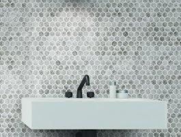 Onix Mosaico Hex Craquele 0
