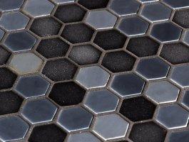Onix Mosaico Hex Stoneglass Blends 2