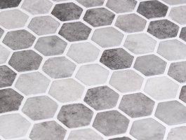 Onix Mosaico Hex Zement 1