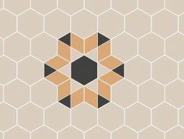TopCer Hexagon Inserts 6